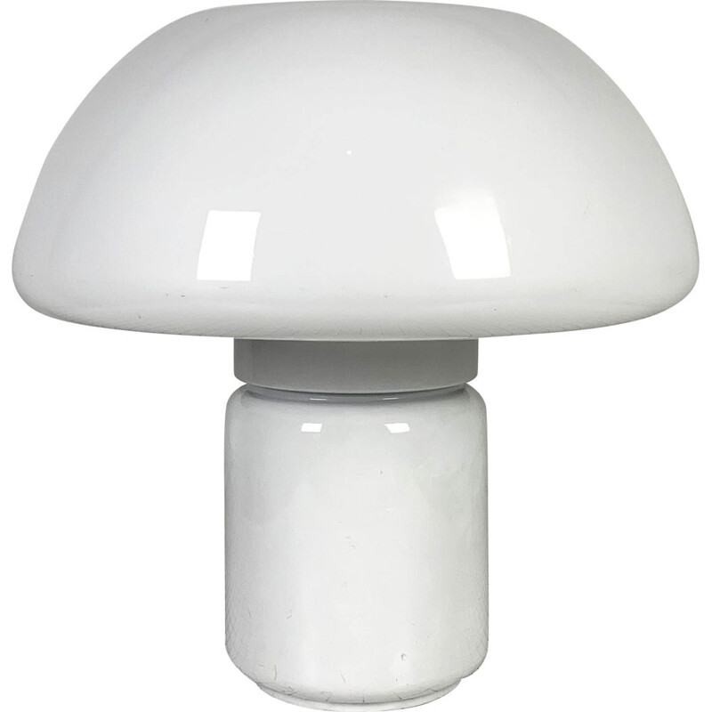 Vintage Mushroom Table Lamp by Elio Martinelli for Martinelli Luce 1970s