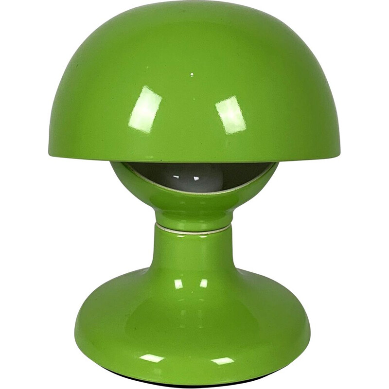 Vintage Flash Green Table Lamp by Tobia & Afra Scarpa for Flos 1960s