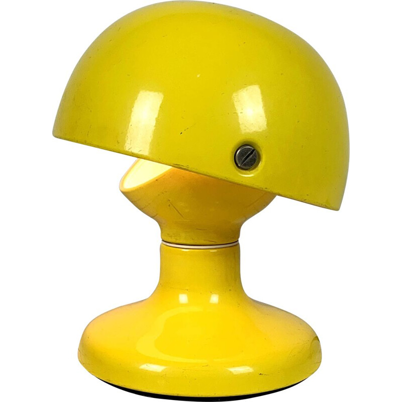 Vintage Yellow Table Lamp by Tobia & Afra Scarpa for Flos 1960s