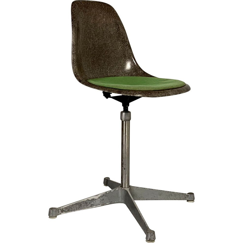 Vintage Swivel DSW Chair by Charles & Ray Eames for Herman Miller, 1980s