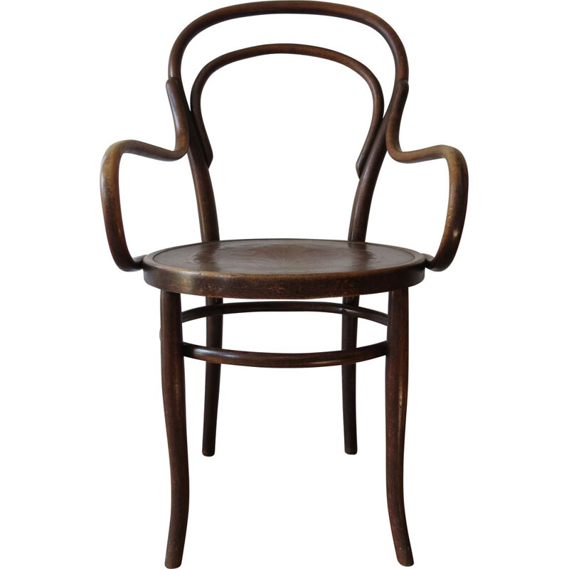 Bentwood Chair No 14 By Thonet 19th Century Art Nouveau