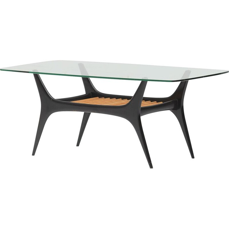 Mid century coffee table designed by Alfred Hendrickx for Belform 1958