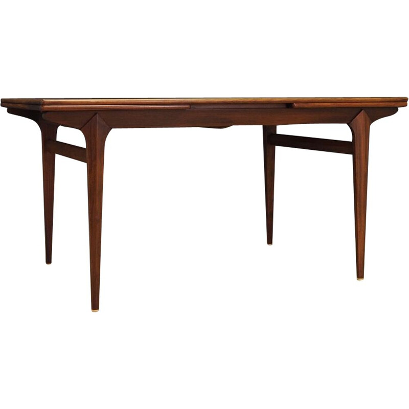 Vintage extentible rosewood dining table 1960s