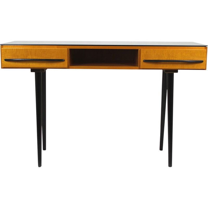 Mid-Century Desk or Console Table by Mojmír Požár for UP Bučovice 1960s