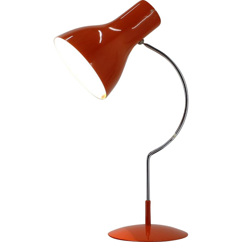 Midcentury table Lamp by J.Hurka 1970s