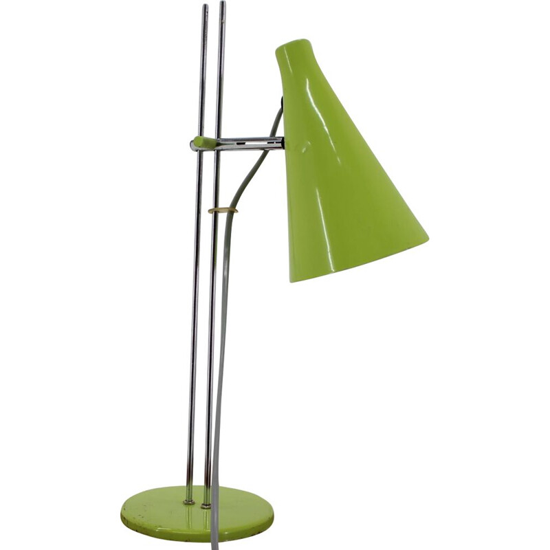 Midcentury Table Lamp by Josef Hurka 1970s