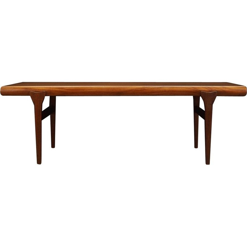 Vintage Johannes Andersen Coffee Table Teak 1960s