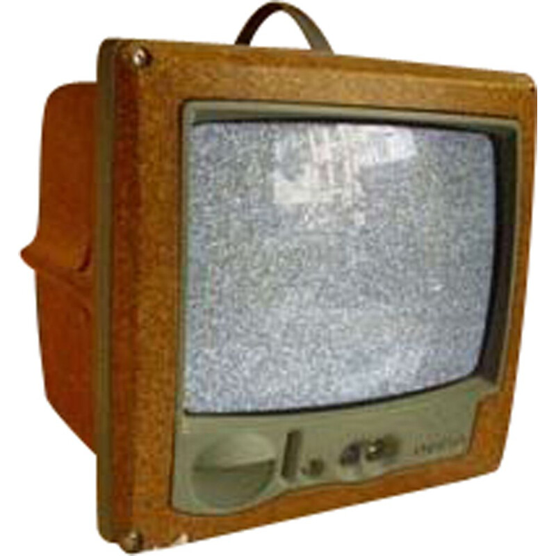 Vintage color television Jim Nature by Philippe Starck