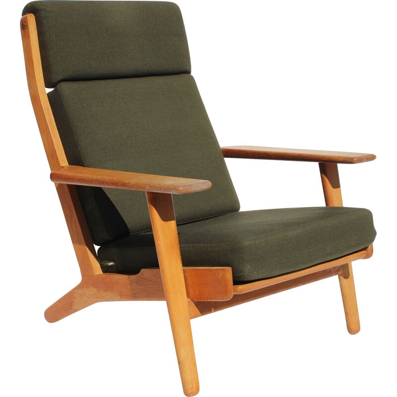 Vintage Easy chair with tall back 1960s