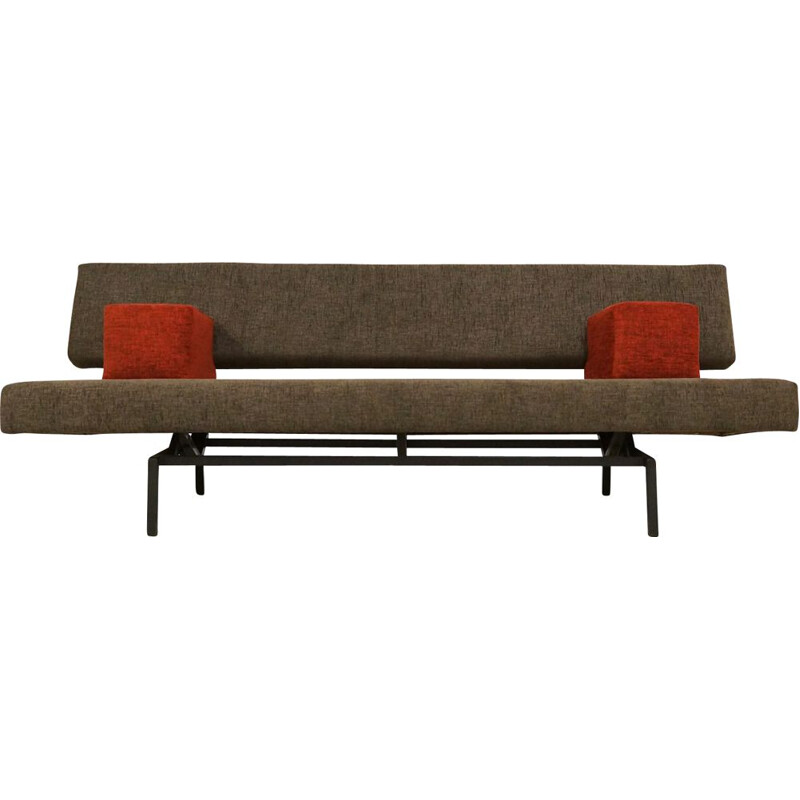 Vintage Reupholstered Martin Visser Daybed  Sleeping Sofa for Spectrum 1960s