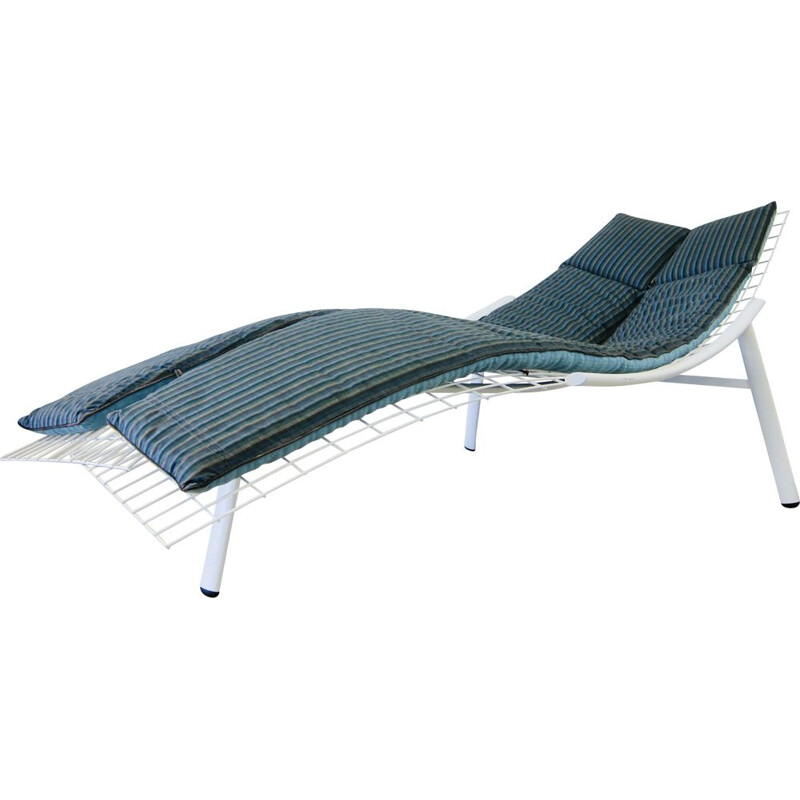 Vintage Saporiti Swing chaise longue by Giovanni Offredi 1970s