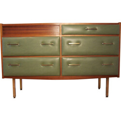 Mid-century chest of drawers in rosewood, Roger LANDAULT - 1950s