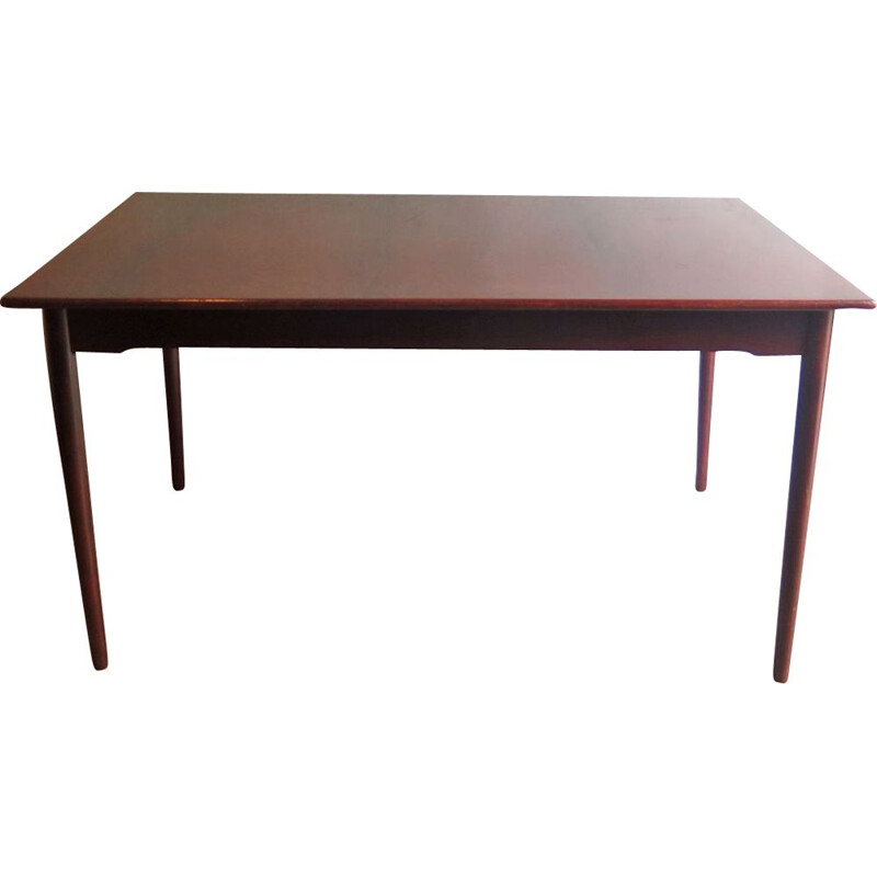 Vintage Rosewood top extendable dinning table 1950s