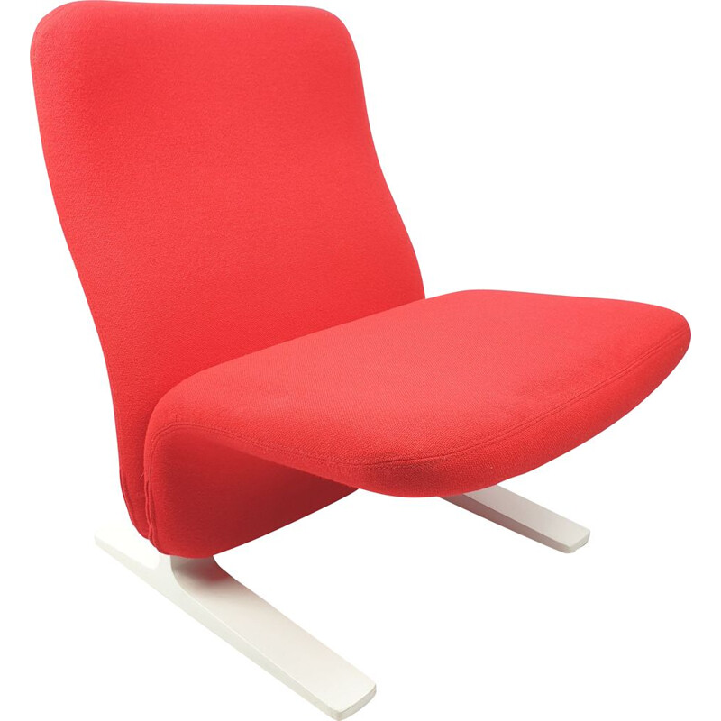 Vintage Concorde Lounge Chair by Pierre Paulin for Artifort 1980s
