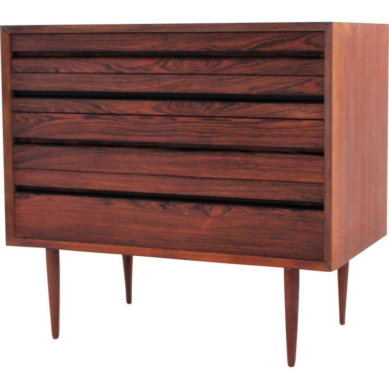 Vintage teak chest of drawers by Poul Cadovius