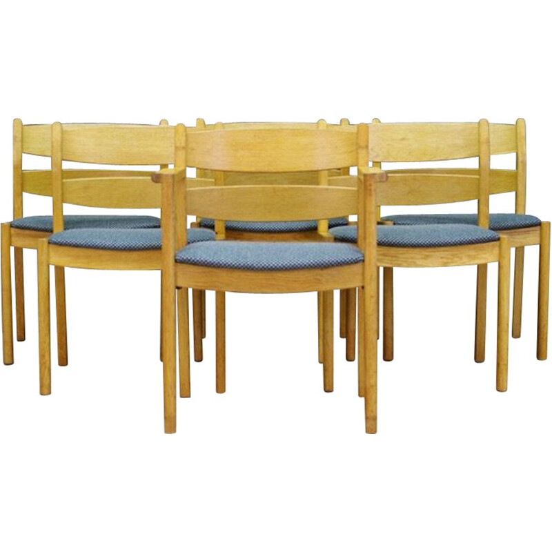 Set of Vintage Kurt Ostervig Chairs Danish 1970s