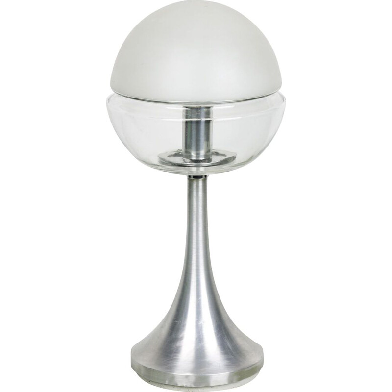 Vintage German space age mushroom table lamp from Doria Leuchten