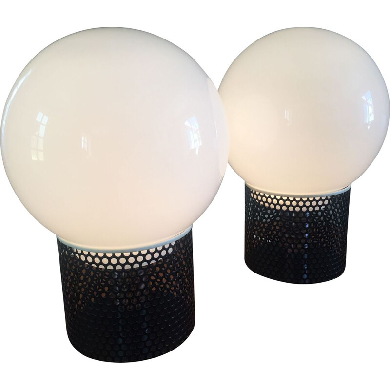 Pair of vintage lamps Michel BOYER 1972