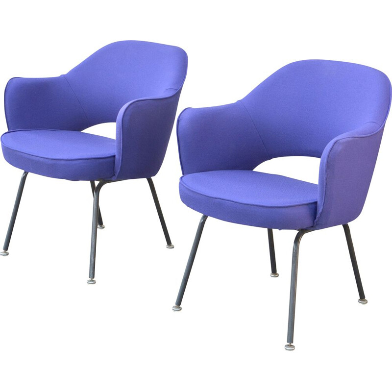 Pair of vintage armchairs by Eero Saarinen KNOLL