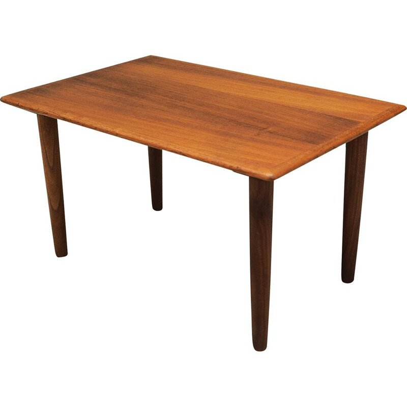 Vintage Teak coffee table, Danish 1970s