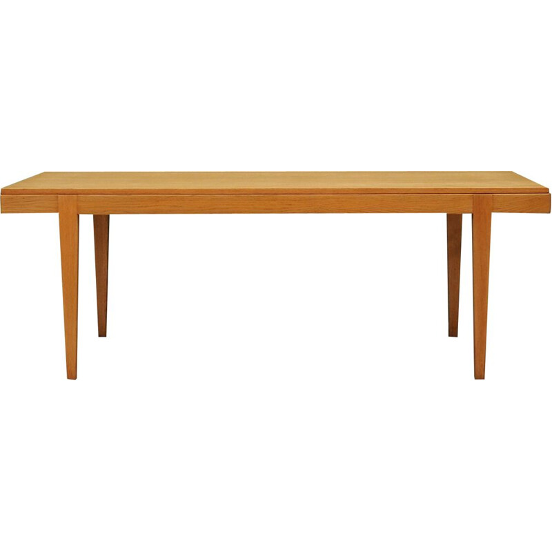 Vintage coffee table in ash from Haslev Mobelsnedkeri, 1960