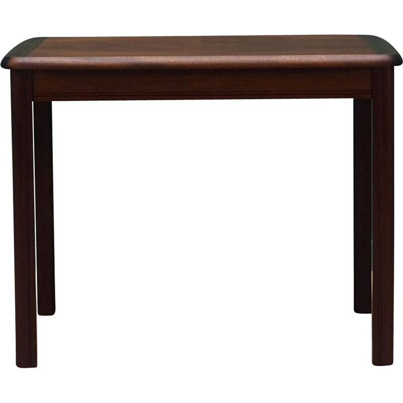 Vintage coffee table in mahogany, 1960