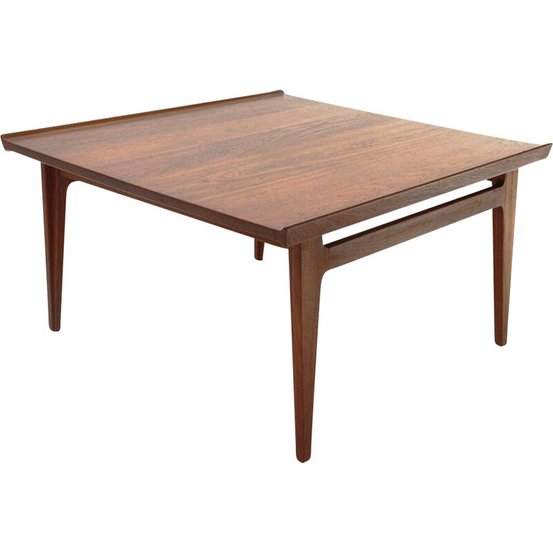 Vintage Teak coffee table by Finn Juhl for France & Davorkosen, 1960s