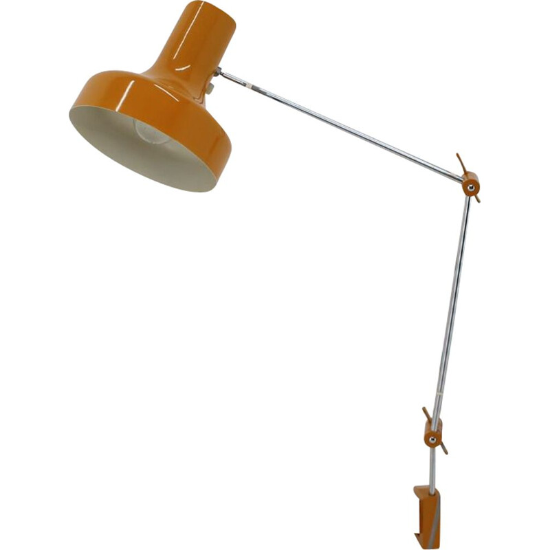 Mid-century adjustable table lamp Napako, 1970s