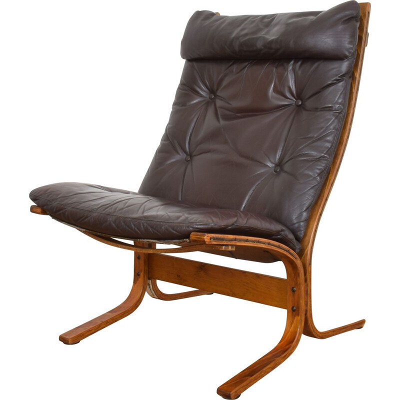 Mid-Century Siesta Lounge Chair by Ingmar Relling for Westnofa, 1960s