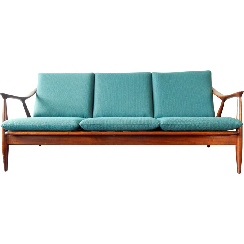 Mid-Century 3-Seater Sofa from De Ster Gelderland, Danish 1960s