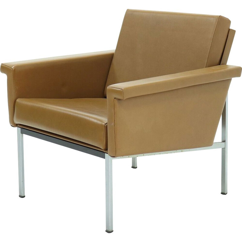 Vintage Gispen 1455 Easy Chair by Coen de Vries 1960s