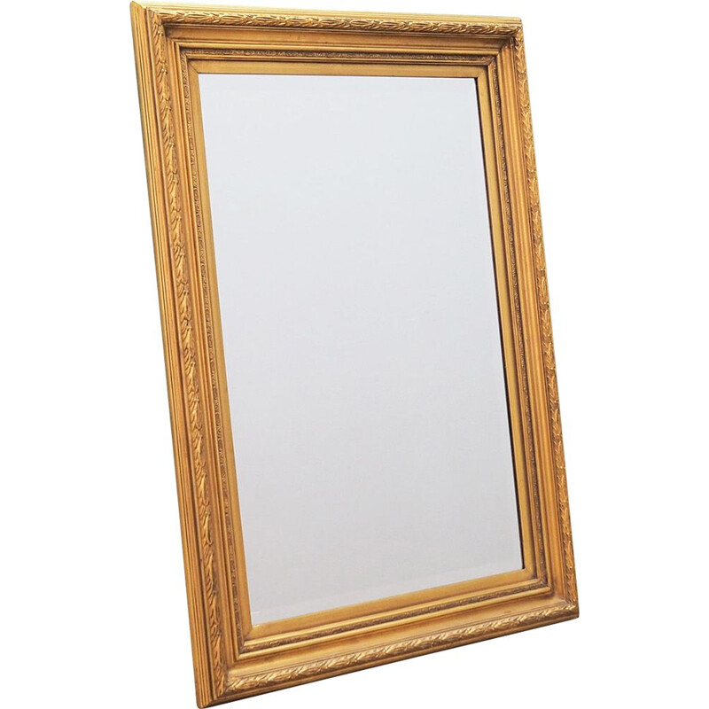 Vintage Mirror with decorative frame, Danish 1990s