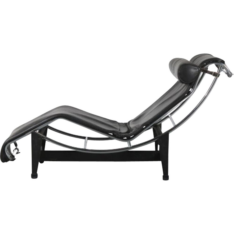 Vintage 'LC4' Chaise Longue by Le Corbusier for Cassina, Italy 1980