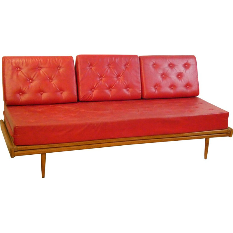 Double bench seat Vintage Georges Tigien 1958