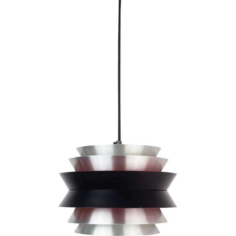 Vintage pendant lamp Trava by Carl Thore, Granhaga, Swedish 1963