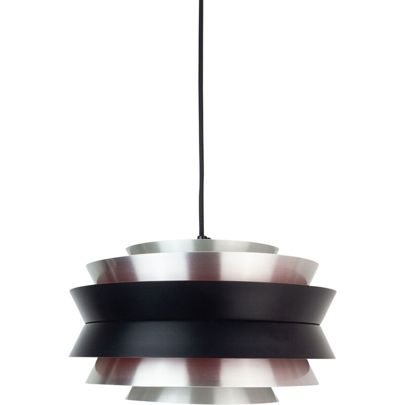 Vintage pendant lamp Trava by Carl Thore, Granhaga,Swedish 1963