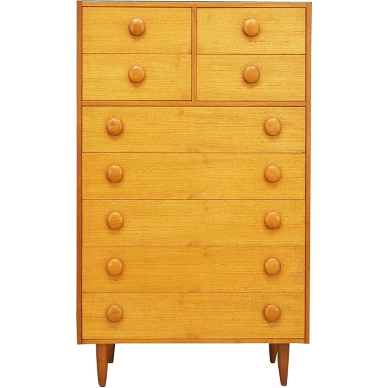 Vintage chest of drawers in teak Scandinavian 1960s