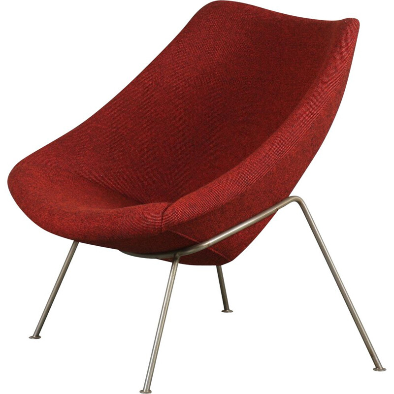 Vintage 'Oyster' Chair by Pierre Paulin for Artifort, Netherlands 1970s