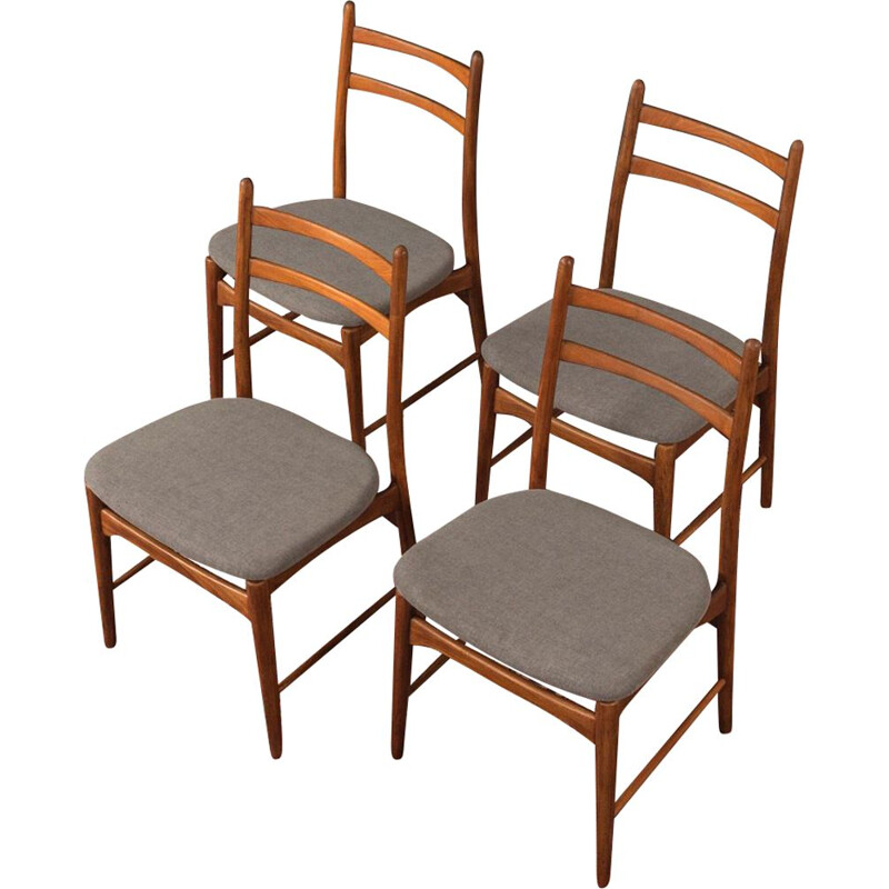 Set of 4 Vintage chair teak 1960s
