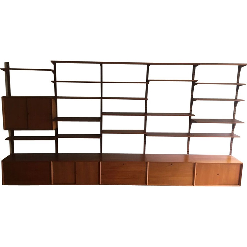 Vintage Shelf Royal System Teak Poul Cadovius 1960