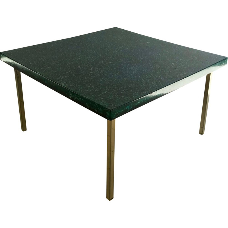 Vintage coffee table by Pierre Giraudon, France 1970