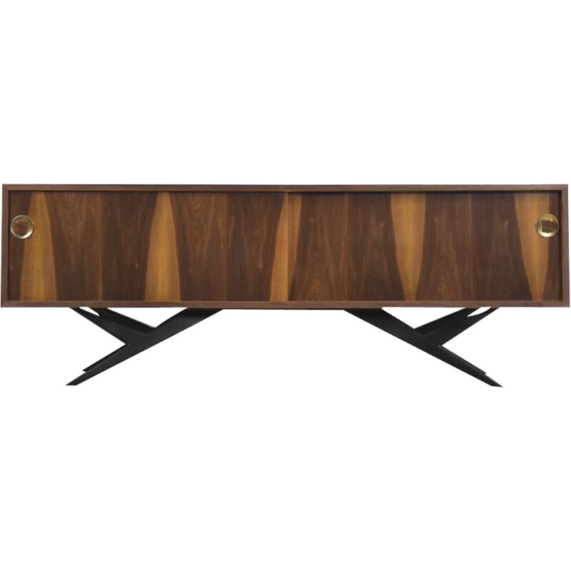 Vintage modern sideboard in Norwegian walnut 1960