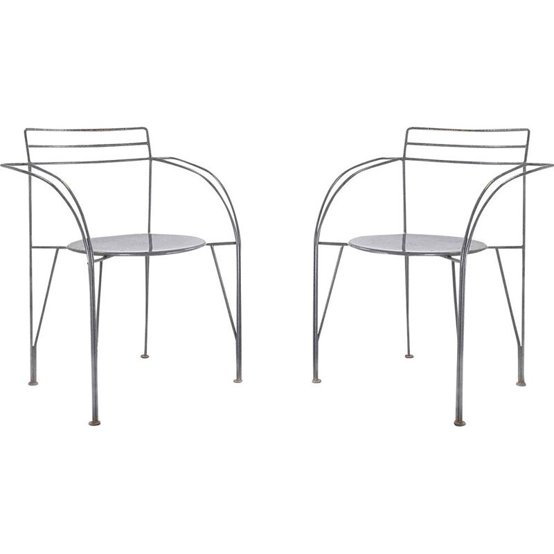 Pair of Vintage Chairs by Pascal Mourgue 1985
