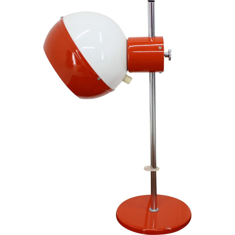 Vintage magnetic table lamp Drukov, Czechoslovakia, 1970