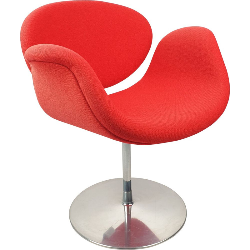 Vintage Little Tulip Chair by Pierre Paulin for Artifort 1980s