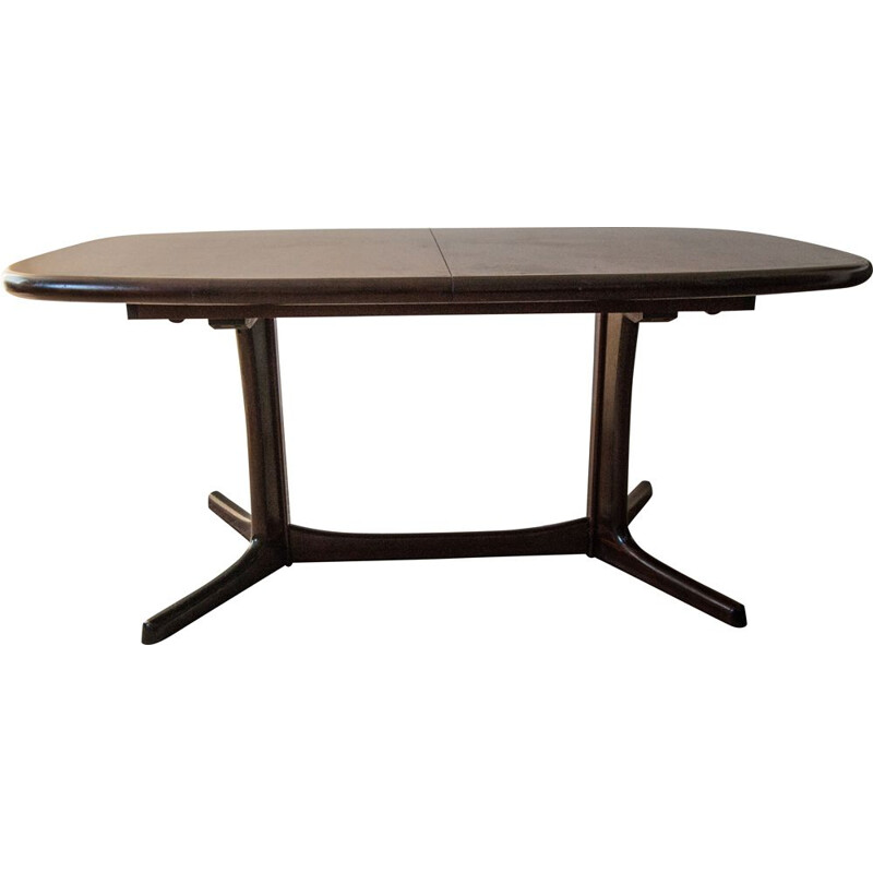 Vintage rosewood dining table Denmark 1970s