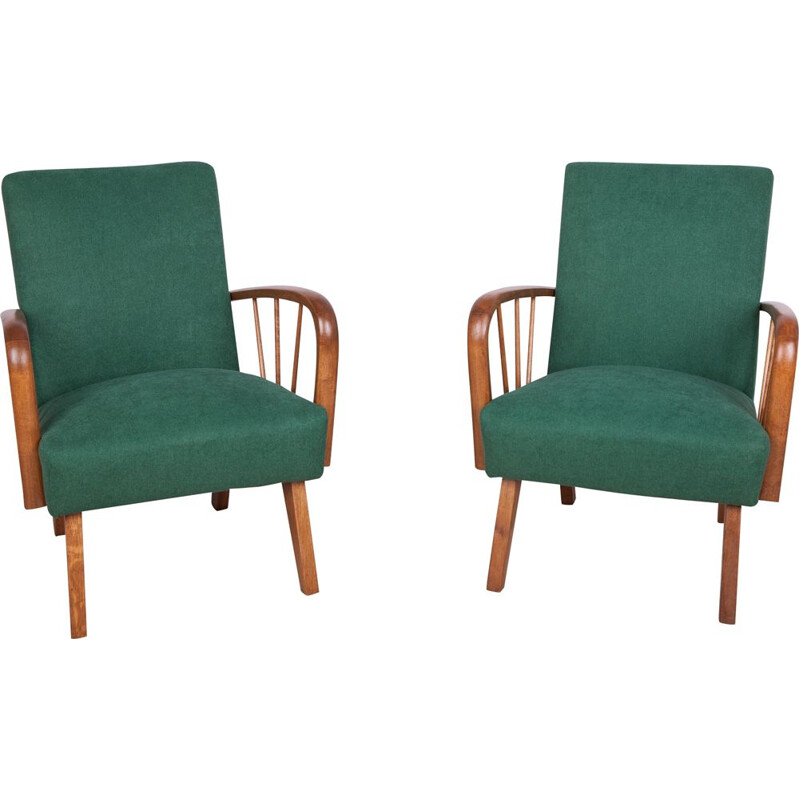 Pair of vintage Polish Armchairs 1960s