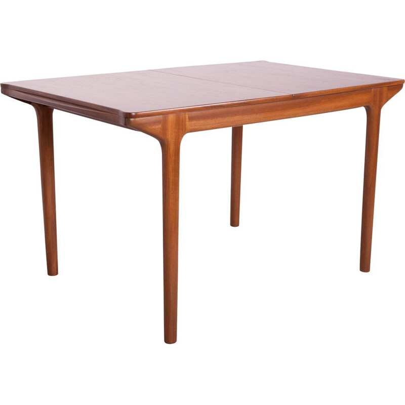 Mid-Century Teak Extendable Dining Table from McIntosh 1960s