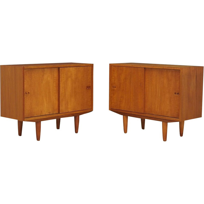 Pair of vintage Danish teak Arne Vodder sideboards 1970