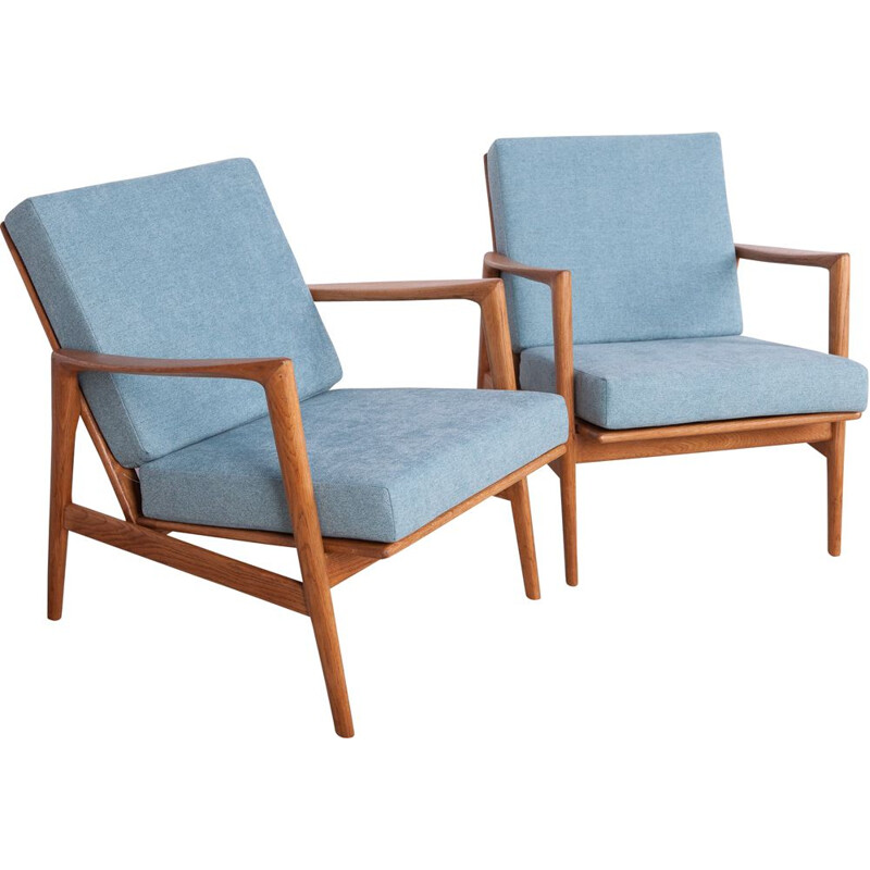 Pair of vintage Armchairs from Swarzędzka 1960s